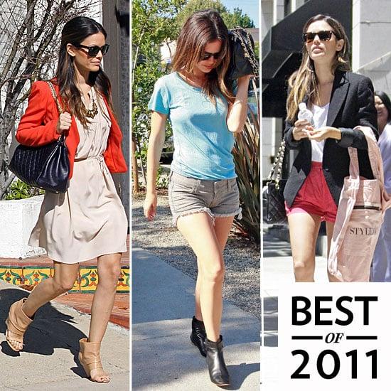 Rachel Bilson Street Style 2011