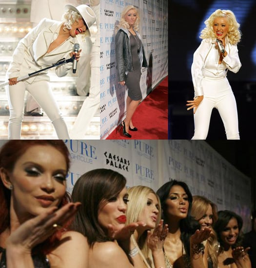 Christina Headlines Vegas with Some Dolls