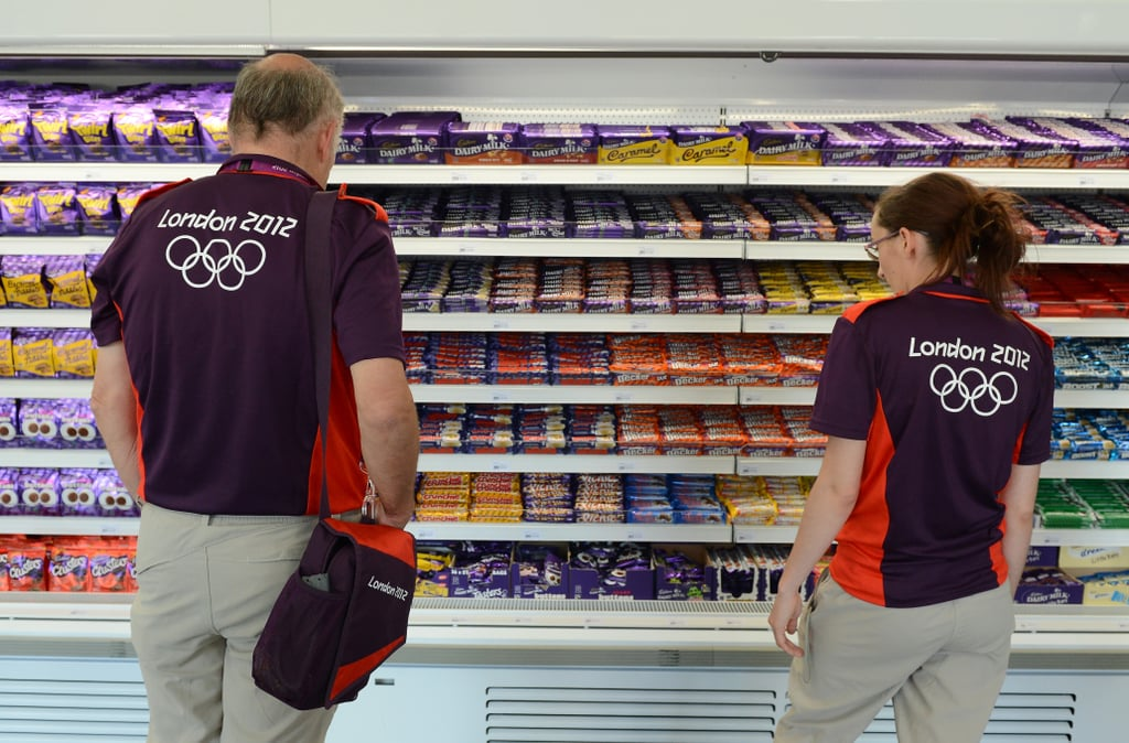Olympians Need Candy, Too