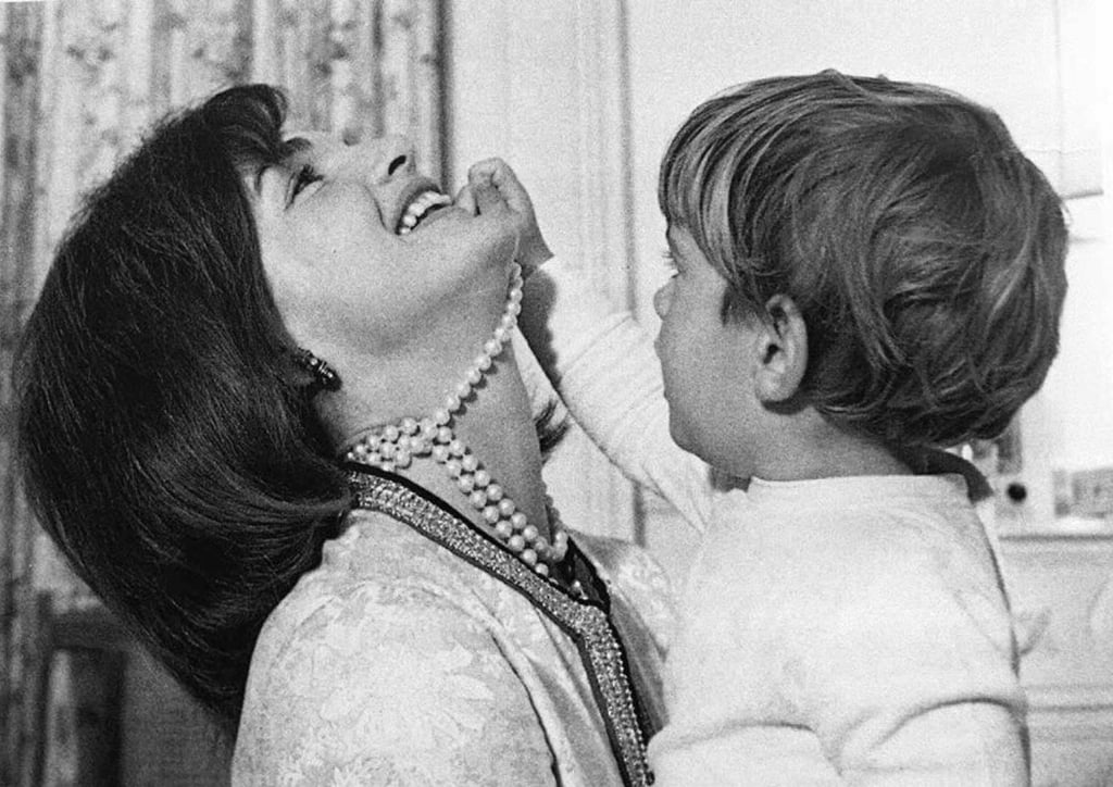 First Lady Jacqueline Kennedy and JFK Jr., 1962