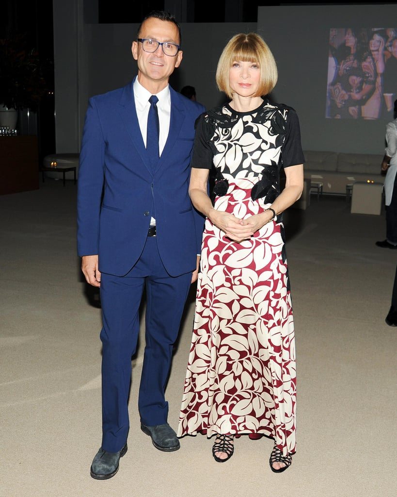 Steven Kolb and Anna Wintour at the CFDA/Vogue Fashion Fund Awards.
