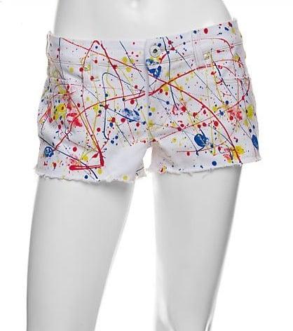 Blank Splatter Cut Off Shorts: Love It or Hate It?