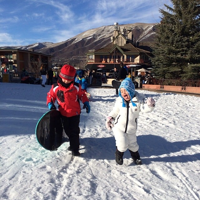 Arabella Kushner went skiing with her cousins. Source: Instagram user ivankatrump