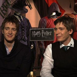 Harry Potter Interview With James and Oliver Phelps
