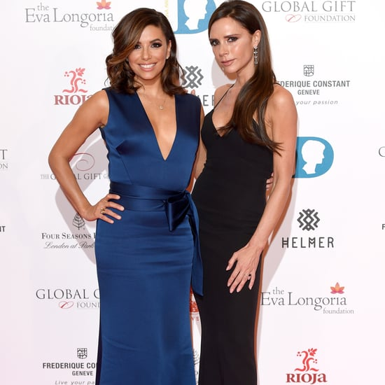 Eva Longoria and Victoria Beckham Are Just Like You and Your BFF Before a Night Out