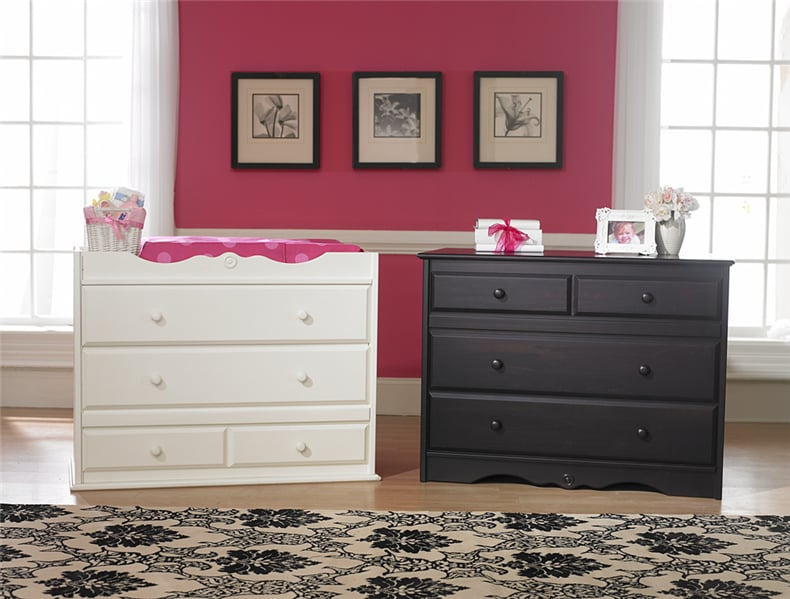 Changing Table Into Dresser