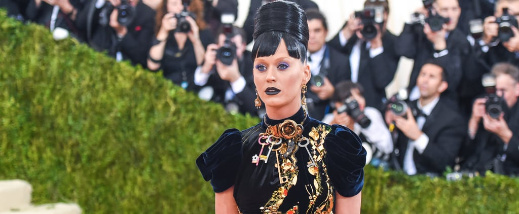 Katy Perry Looks Scary Good at the Met Gala