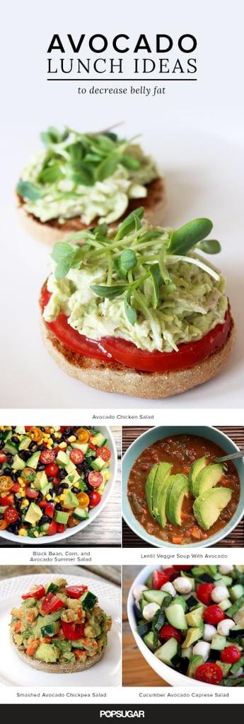 Tummy-Trimming Avocado Lunch Recipes