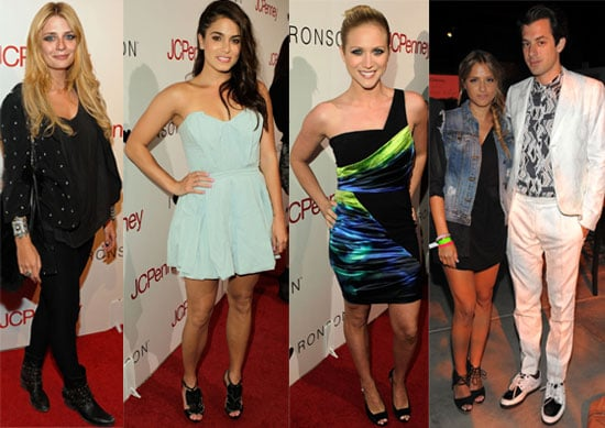 Pictures of Celebs at Charlotte Ronson's JC Penney Party