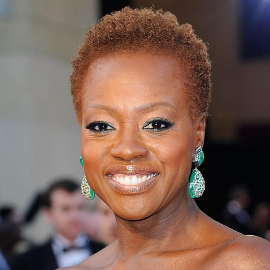 Viola Davis: Oscars Beauty Look For 2012