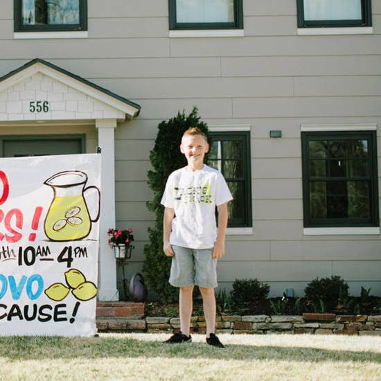 Lemonade Stand Pays For Wheelchairs