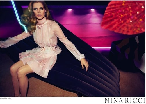 Nina Ricci Unveils Spring 2011 Ad Campaign With Malgosia Bela 2011-01-18 09:22:05
