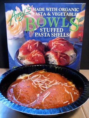 Straight From Amy's Kitchen:  Stuffed Pasta Shells