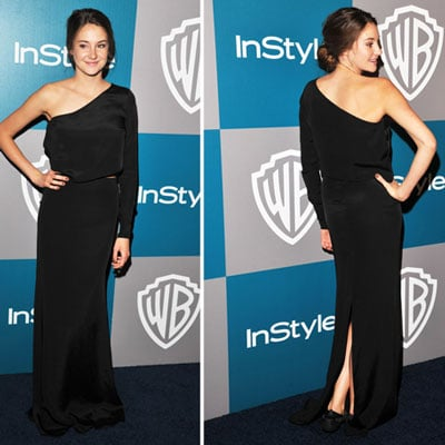 Shailene Woodley at Golden Globes InStyle Afterparty 2012