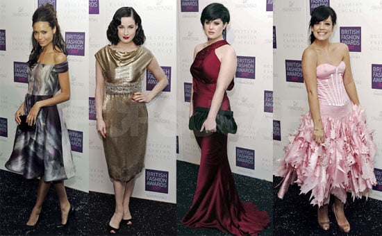 British Style Awards Bring Pretty Dresses & Women