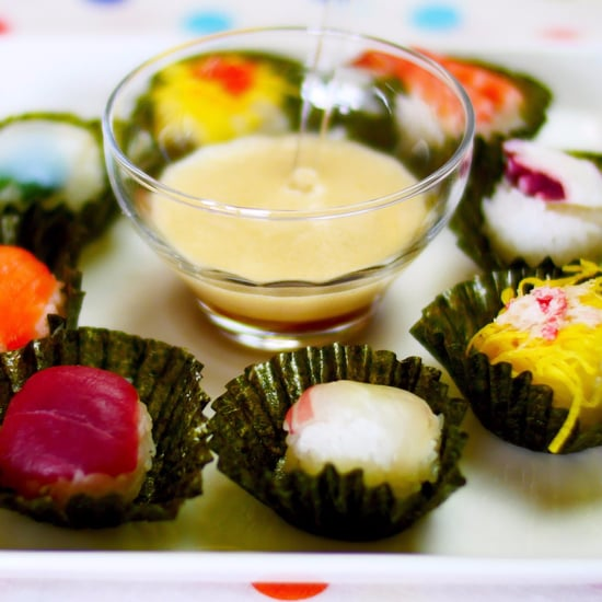 How to Make Sushi Cupcakes