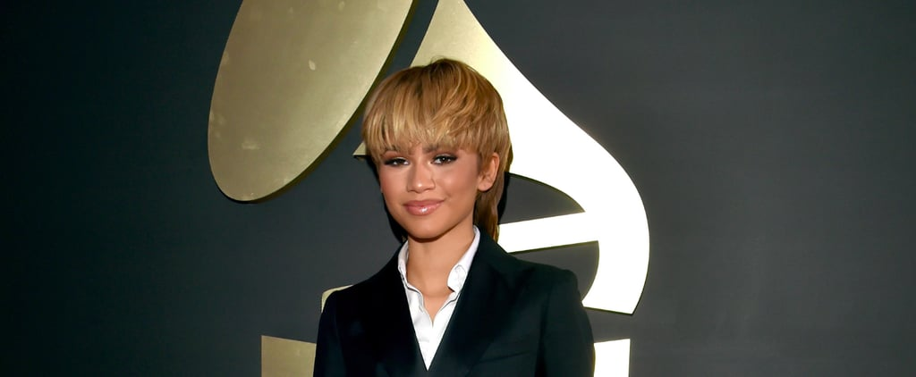 How Do You Feel About Zendaya's Mullet Hairstyle at the Grammys?