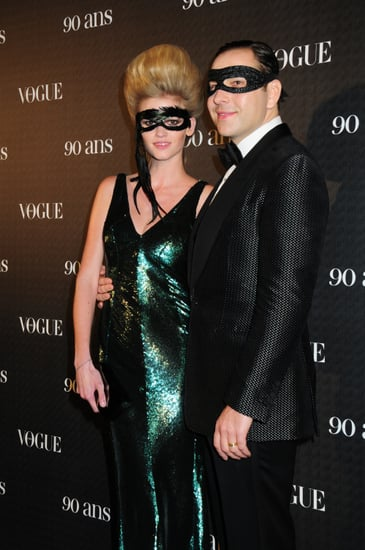 Lara Stone's Husband David Walliams on Married Life, the Possibility of Children