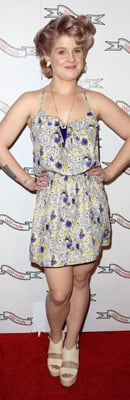 Kelly Osbourne at Odd Molly Opening