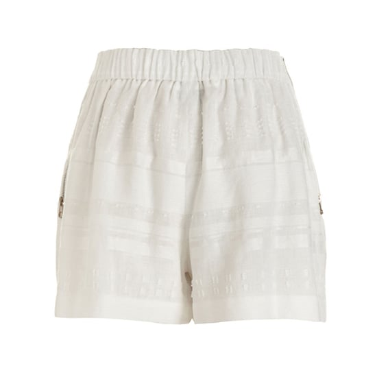 """3.1 Phillip Lim Pleated Linen Shorts, $275   Pair with:   <iframe src=""""http://widget.shopstyle.com/widget?pid=uid5121-1693761-41&look=3445648&width=3&height=3&layouttype=0&border=0&footer=0"""" frameborder=""""0"""" height=""""244"""" scrolling=""""no"""" width=""""286""""></iframe>"""