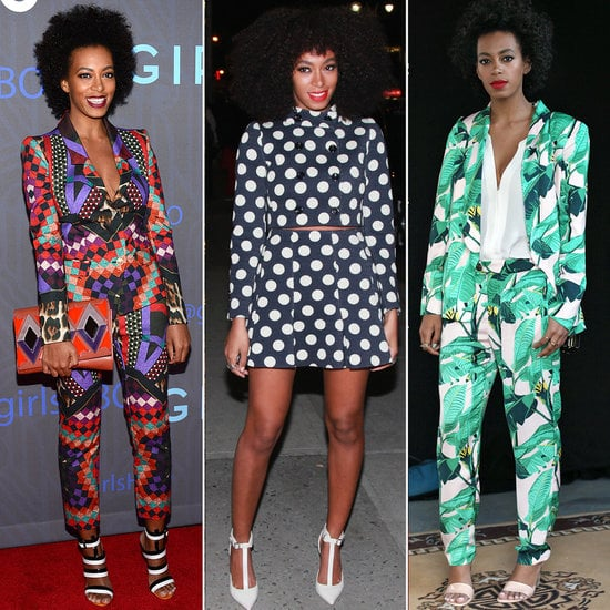 We think it's safe to say: Solange Knowles is the queen of prints.