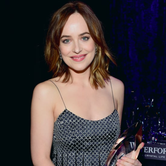 Dakota Johnson's Outfit at the People's Choice Awards 2016