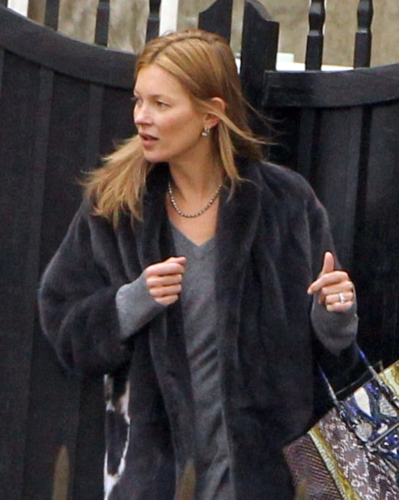 Kate Moss and Jamie Hince Catch a Concert in London