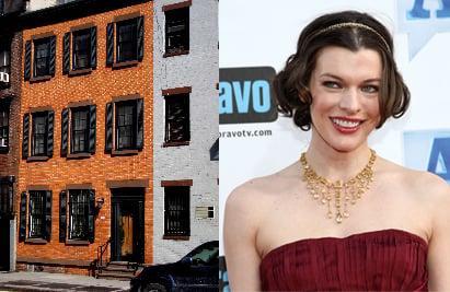 Milla Jovovich Hawks Her West Village Townhouse