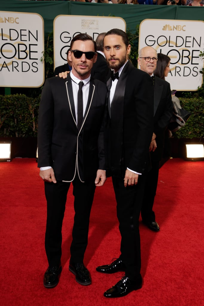 Jared Leto brought his brother Shannon as his date to the Golden Globes.