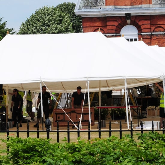 Preparations at Kensington Palace For Nicky Hilton's Wedding