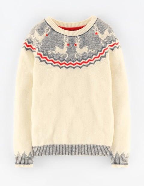 Boden Reindeer Yoke Sweater ($118)