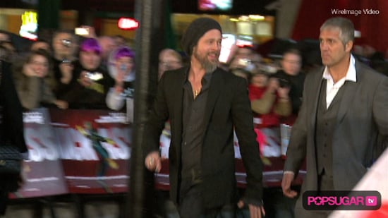 Brad Pitt at the London Premiere of Kick-Ass