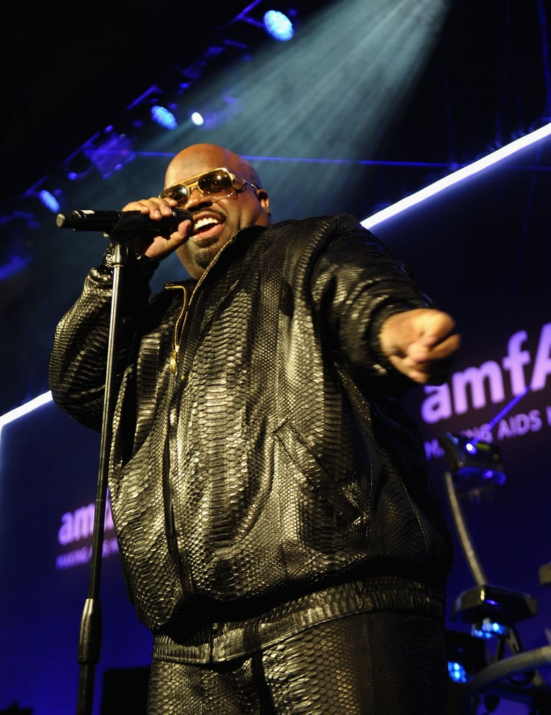 CeeLo Green performed at the amfAR New York Gala in February.