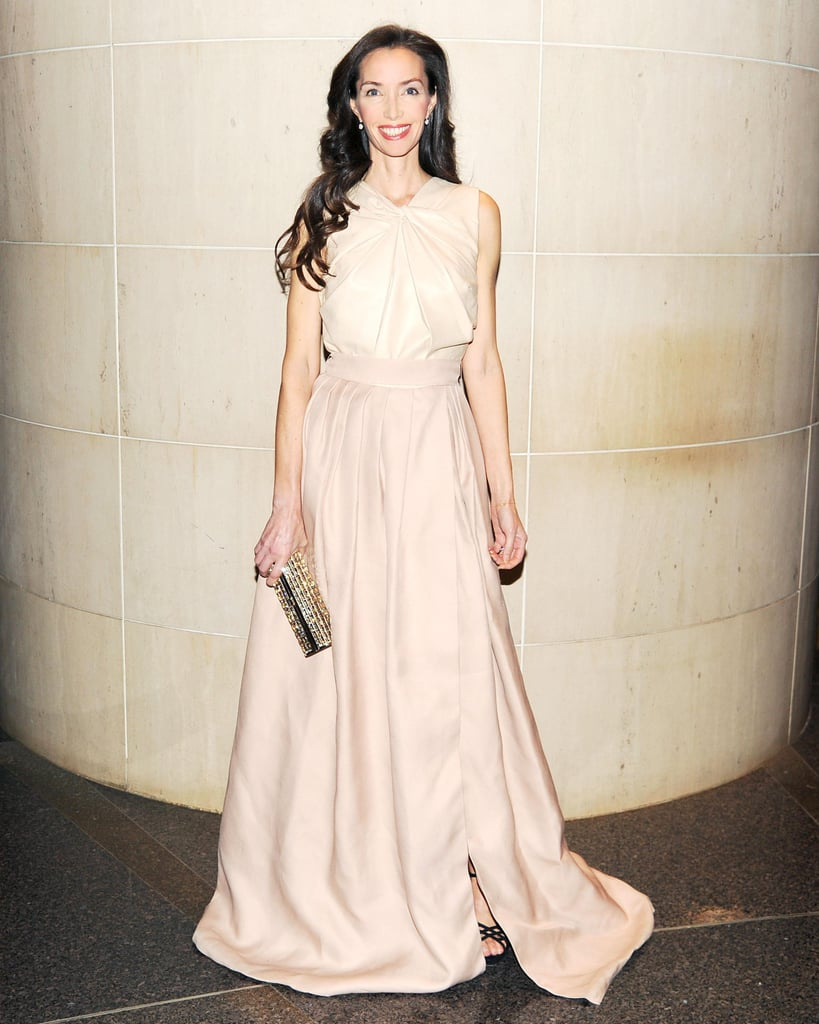 Olivia Chantecaille wore Valentino at the New Yorkers For Children 10th Anniversary Spring Dinner Dance in New York. Photo: Billy Farrell/BFAnyc.com