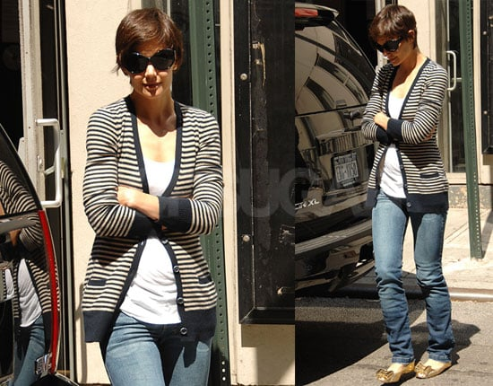 Photos of Katie Holmes While Her Broadway Ticket Sales Are Rumored to Be Lagging