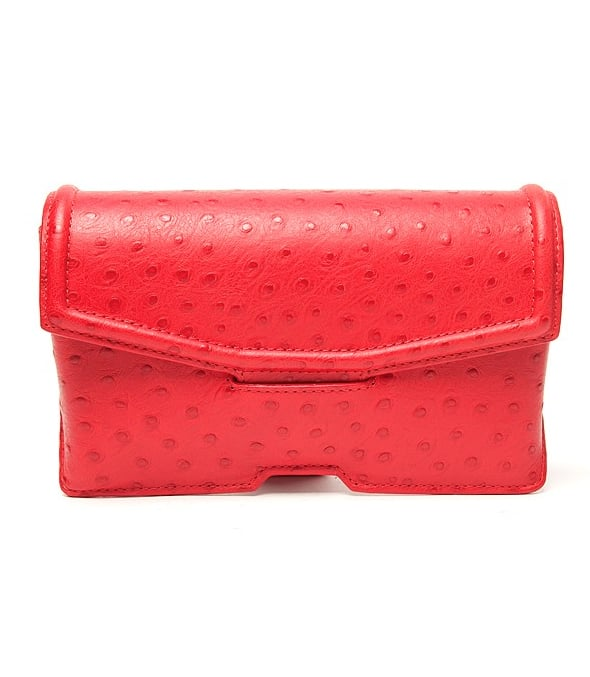 """""""I tend to wear darker colors in Fall, which also makes it the best time to inject a pop of color with a bright bag, like this Alexander Wang ostrich clutch. I think it'll look especially great against an LBD or gray jeans."""" — Brittney Stephens, assistant editor Alexander Wang Ostrich Clutch ($425)"""