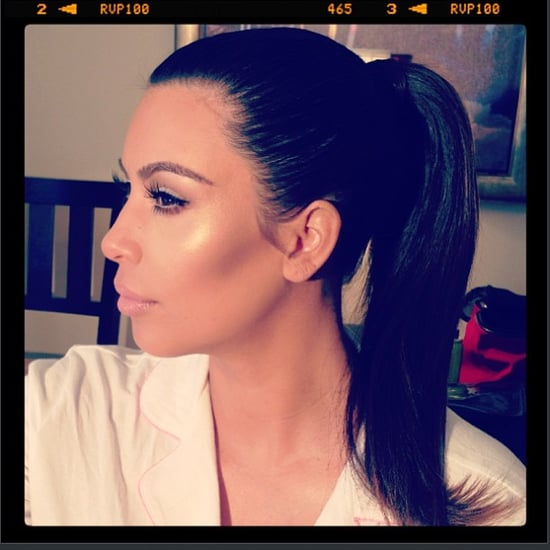 Kim Kardashian Birthday. 50+ Beauty, Hair, Nails, Makeup Photos From Instagram