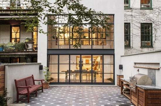 Exterior Finishes: 11 Facades with Factory Windows