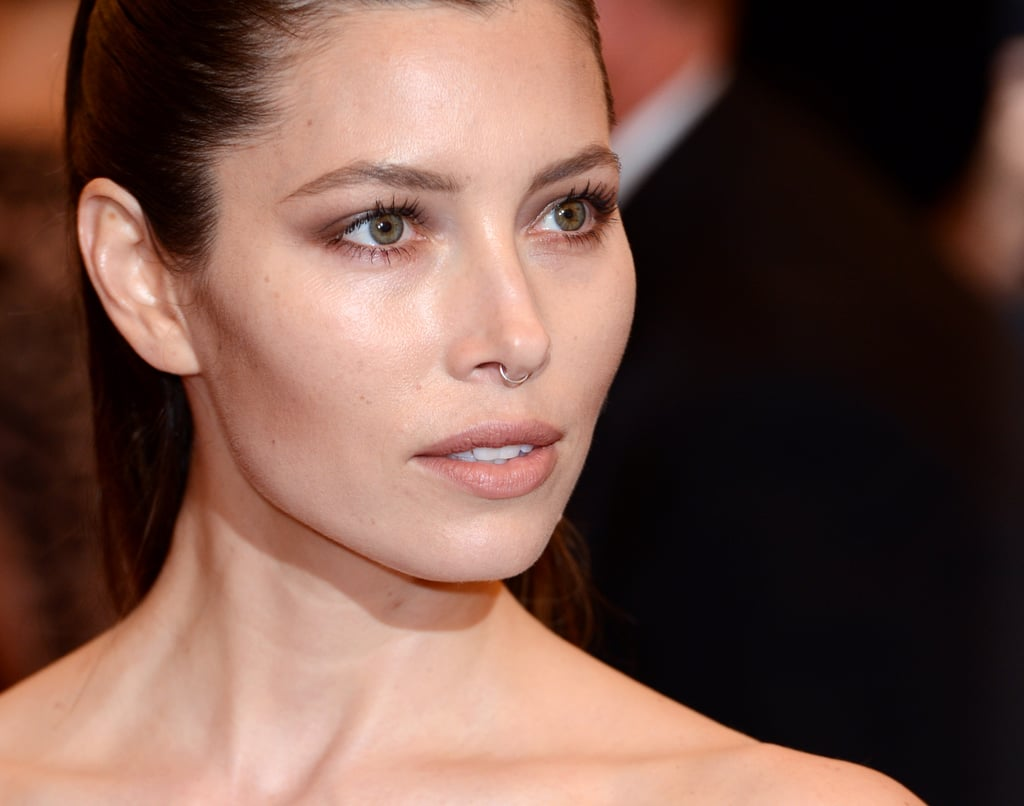 Jessica Biel Makes a Sheer Statement at the Met Gala