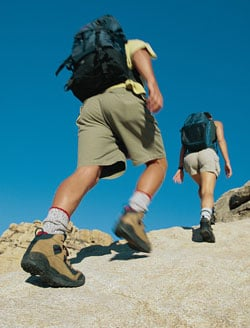 Get It Up, Your Heart Rate That Is: Treadmill Hill Hike
