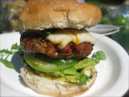 Say Cheese! Pork Chipotle Muenster Burgers