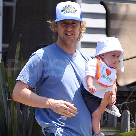 Owen Wilson Pictures With Son Robert Ford Wilson
