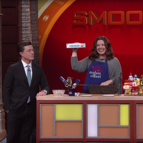 Melissa McCarthy Chopped Video on Stephen Colbert