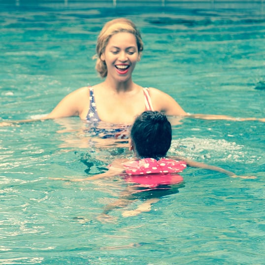 Beyonce and Blue Ivy Summer Vacation Pictures