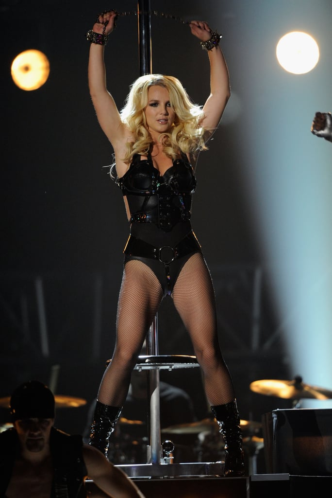 She wore a skintight suit at the 2011 Billboard Music Awards in Las Vegas.