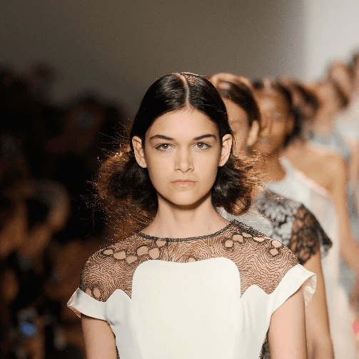 Lela Rose Spring 2014 Hair and Makeup | Runway Pictures