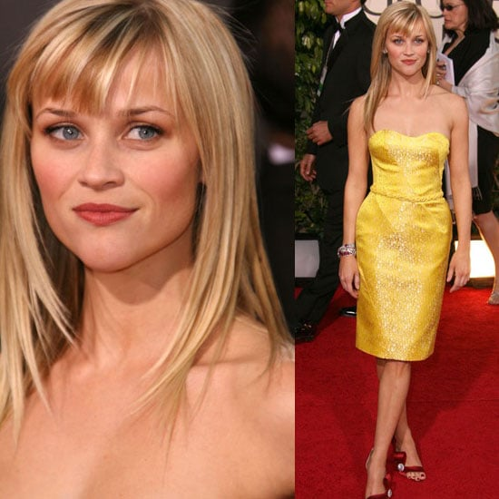 The Golden Globes Red Carpet: Reese Witherspoon