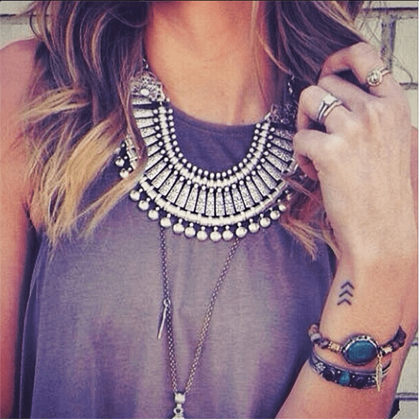 Now this is Lollapalooza layering done right. Source: Instagram user luxecartel