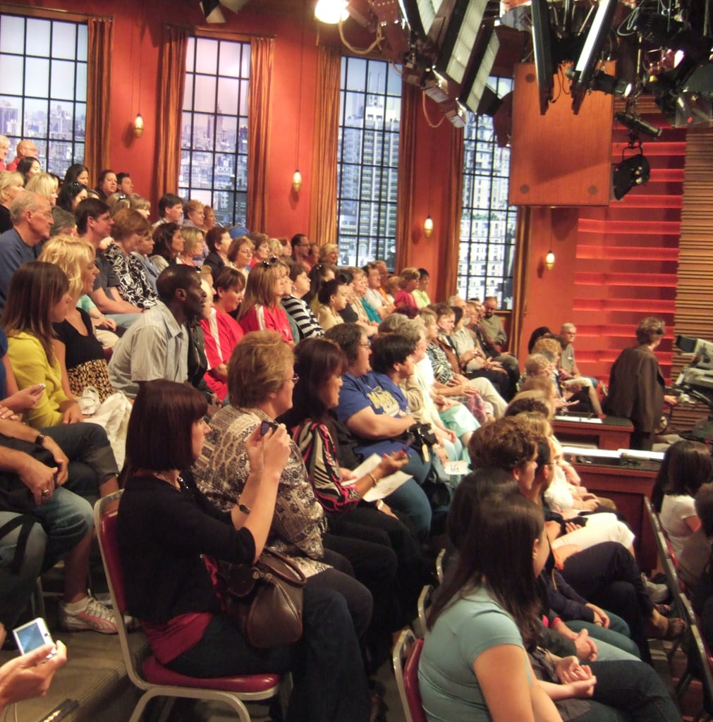 Be Part of a TV Show Audience