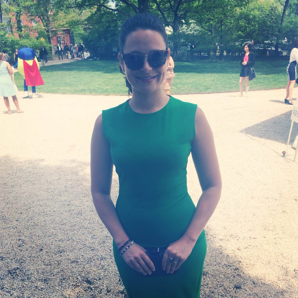 Is it just us, or was Katie Lowes, who plays Scandal's Quinn, looking hot at Saturday's White House Correspondents' Brunch?